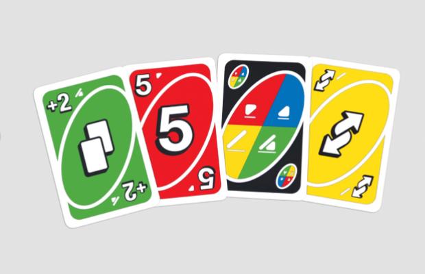jogo Uno Mattel daltônico