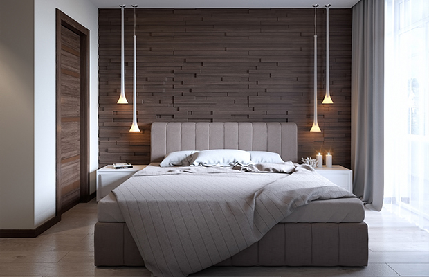 cool bedroom lights como usar painel de madeira para decorar as paredes da sua 11245