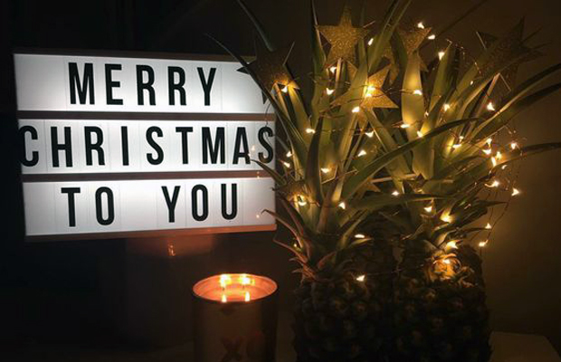 Tendência Pinterest | Abacaxi: uma alternativa divertida à Árvore de Natal