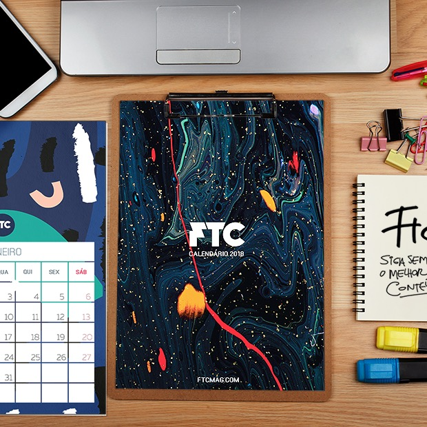 Calendário 2018 FTC para baixar + uma seleção de outros 15 para você imprimir grátis e se organizar