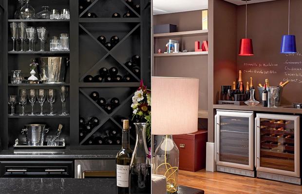 adega em casa vinhos