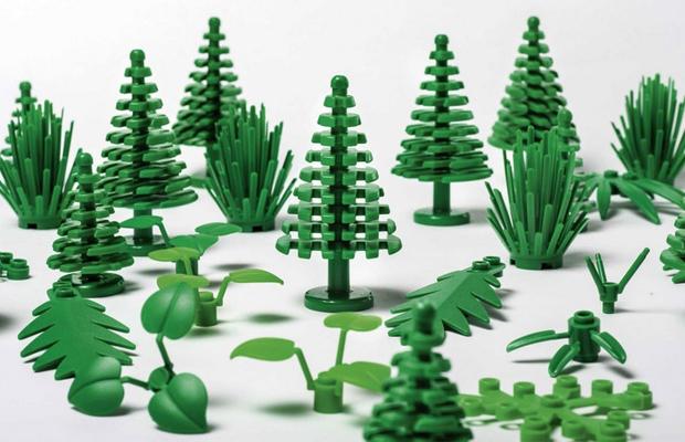 lego plástico sustentável