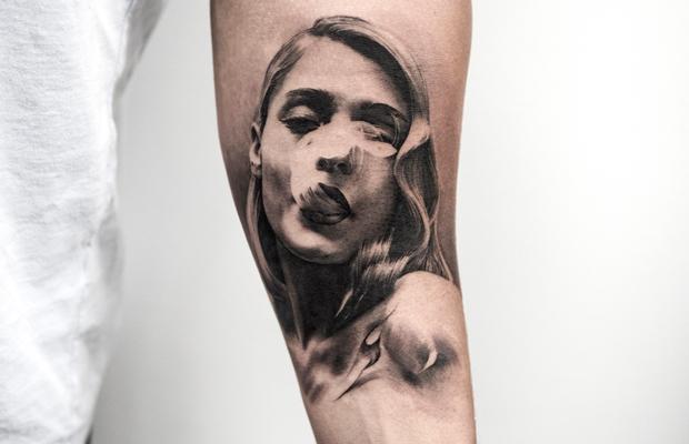 Oscar Åkermo tattoo