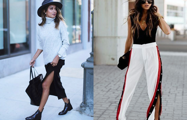 00f0313178 As fendas deixam qualquer look mais sexy e na verdade nunca saem de moda.  Elas aparecem forte agora em túnicas e vestidos midi. A novidade fica por  conta ...