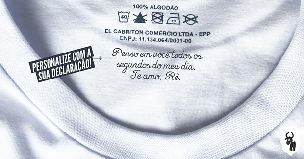 Outro diferencial é que a El Cabriton possui uma impressora têxtil que  realiza toda a produção de suas peças sob demanda. Um mundo de  oportunidades é aberto ... c3fea99980f44
