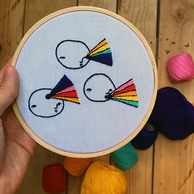 Affonso Malagutti lança coleção de bordados criados a partir de ilustrações autorais e externaliza contexto LGBTQI+