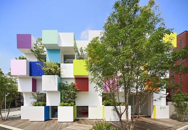 Por um retorno das cores na Arquitetura!