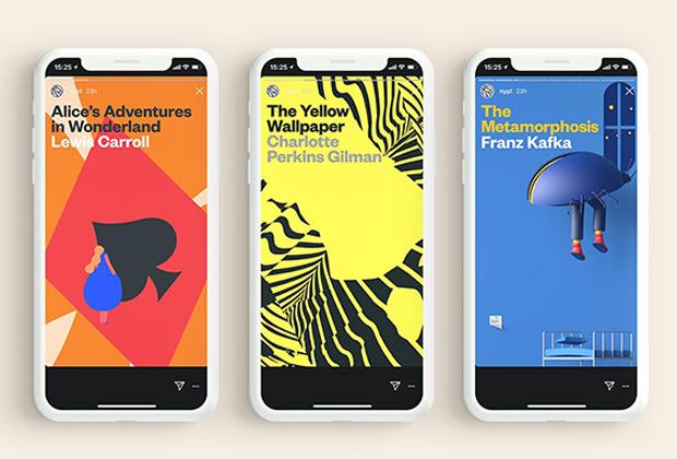 Biblioteca Pública de NY inova ao colocar clássicos da leitura disponíveis no Stories do Instagram de forma integral e interativa