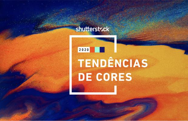 tendência de cores 2020 shutterstock