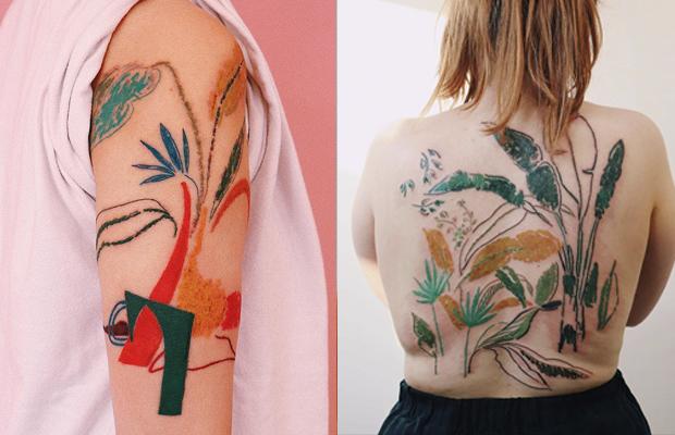 Gong Greem tattoo
