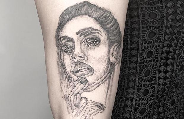 Yatzil Elizalde tattoo