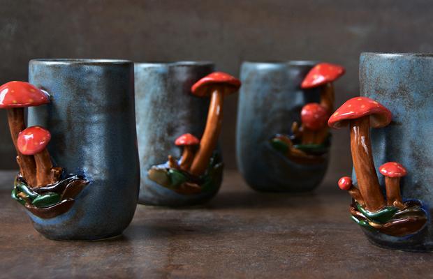 cogumelos tendência no varejo moda design beleza